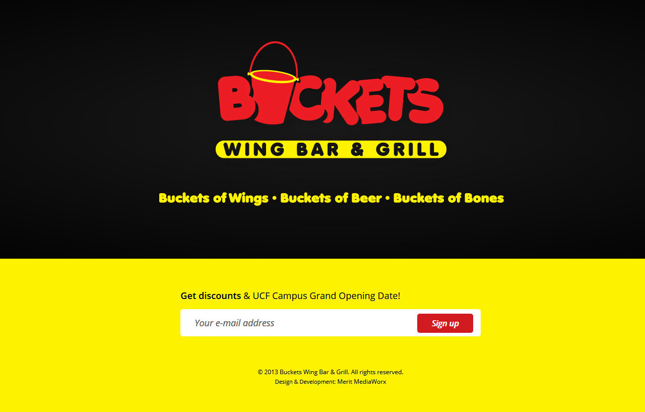Buckets Wing Bar & Grill
